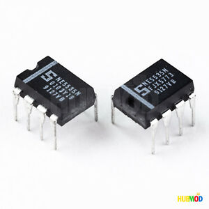 LOT-of-2-Phillips-Signetics-NE5535N-SemiConductor-Dual-High-Slew-Rate-OP-AMP-NEW