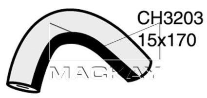 Mackay Engine By Pass Hose CH3203 for SUBARU IMPREZA 1993~1998 1.6L 1.8L