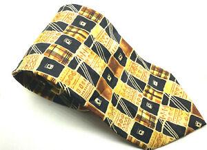 """Abstrakte Givenchy Herren Krawatte Multi 100% Seide 3.75"""" Breite 59"""" Länge"""