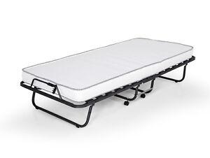 g stebett klappbett celine 10cm matratze ca 90x200 cm inklusive h lle g nstig ebay. Black Bedroom Furniture Sets. Home Design Ideas