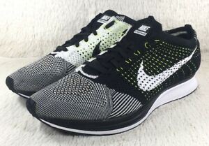 Details about NEW Nike Flyknit Racer Shoes Mens Oreo Athletic Running Trainers 526628011 Sz 13