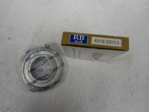 NIB RB Tech Bearing           6212-ZZ//C3