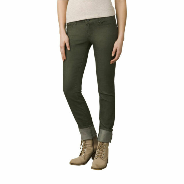 657d97a719a3 prAna Women's Kara Jean Pants 10 None Cargo Green