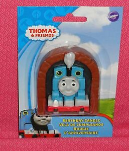 Thomas Tank Engine Cake Decoration Kit : Thomas the Tank Engine Candle,Wilton,Blue,Cake Decoration ...
