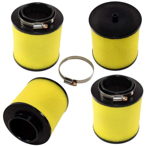 17254-HC5-900 4x HQRP Air Filters for Honda Recon 250 TRX250 TRX250TM TRX250TE