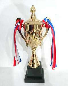 New-Large-Novelty-Winners-Trophy-Prize-Cup-Plastic-Gold-Winner-Cup-Party-Favors