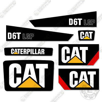 2008 Caterpillar D6T LGP Decals Bulldozer Decals Tractor Decals 7 Year Vinyl