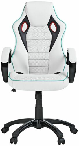 1 of 1 - X-Rocker Office Gaming Chair - White RRP £129.99