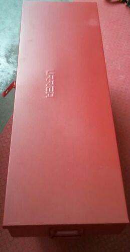 URREA 5896 35-5//16-INCH X 30-INCH X 4-1 METAL TOOL BOX