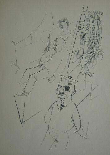 George Grosz Ecce Homo Marseille