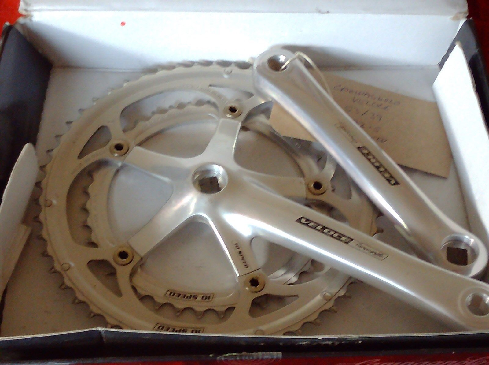 CAMPAGNOLO VELOCE 10 SPEED 53 39 172.5mm