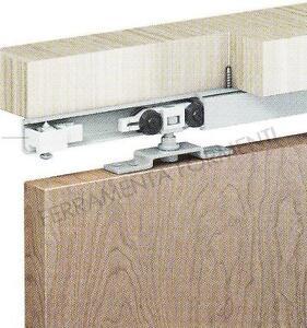 binario per porta scorrevole cm155 + accessori per una porta di 40kg ...