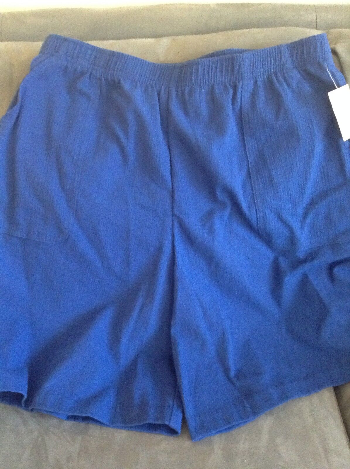 LAURA SCOTT WOMEN'S SIZE XL SURF THE WEB ROYAL blueE SPLIT SKIRT - NEW WITH TAGS
