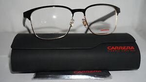 2cb3662238 Carrera RX Eyeglasses New Authentic Black Gold 138 V 807 54 17 150 ...