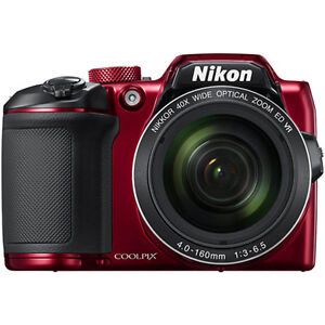 Nikon-COOLPIX-B500-16MP-40x-Optical-Zoom-Digital-Camera-w-Builtin-WiFi-Red