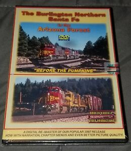 NEW-BNSF-in-the-Arizona-Forest-Digital-Remaster-Broken-Knuckle-Train-DVD