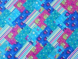30 X 5 INCH SQUARES COTTON PATCHWORK FABRIC CHARM PACK RACING CARS
