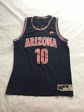 VTG Mike Bibby Nike Arizona Wildcats Stitched Jersey Throwback NCAA Kings NBA L