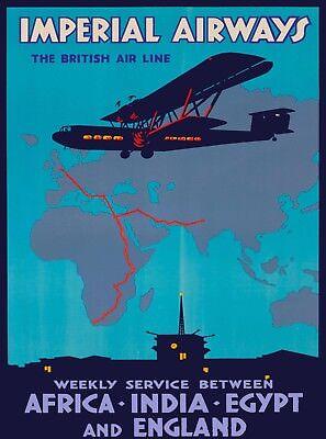 OTHER Old Postcard United Kingdom Trans Canada Airline Ireland Scotland England