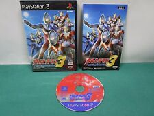 PlayStation2 -- Ultraman Fighting Evolution 3 -- PS2. JAPAN GAME. 42302