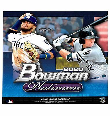 Topps Bowman 2020 Platinum MLB Baseball Trading Cards Monster Box, 23
