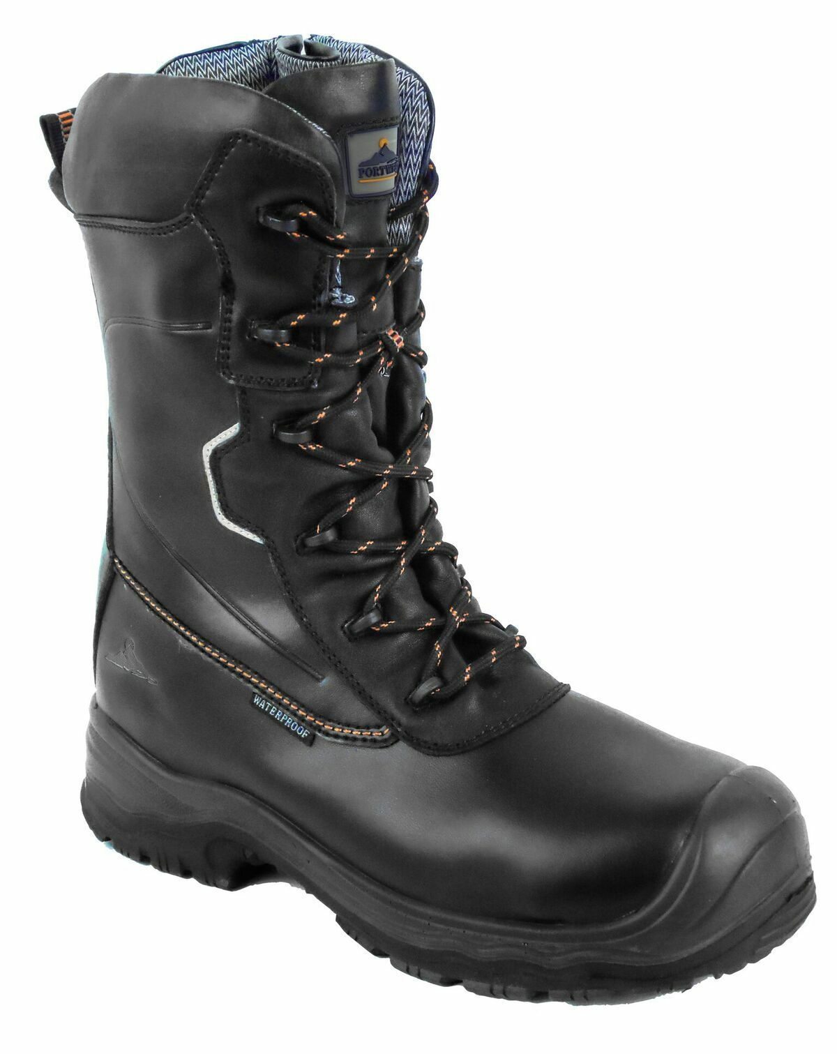 Portwest FD01 Traction 10 Safety Men 25cm Boot Wr Leather 10Inc Waterproof Boots