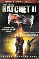 HATCHETT II - R.A. MIHAILOFF, TODD HOLLAND, DANIELLE HARRIS - SEALED DVD