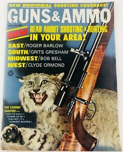 Vintage-GUNS-amp-AMMO-Magazine-June-1966-Shooting-amp-Hunting-in-Your-Area