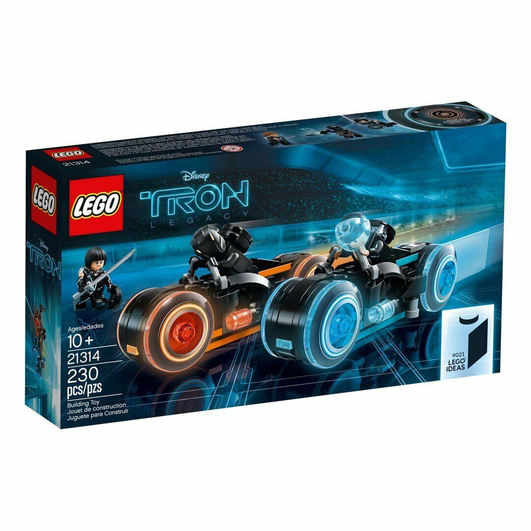 Lego Idea 21314 Tron  Legacy Nuovo Confezione Originale Misb