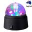 Sansai-Mini-LED-Party-Disco-Light-Battery-Powered-Spinning-Rotating-Indoor-Au thumbnail 1