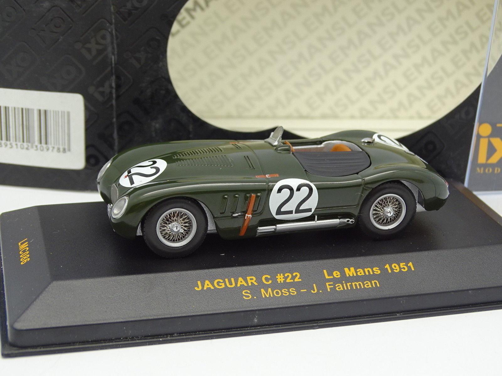 Ixo 1 43 - Jaguar Tipo C Nº22 Le Mans Mans Mans 1951 327639