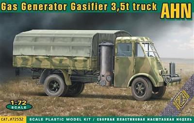 Ace Models 1//72 French World War II AHN 3.5 ton GAS GENERATOR TRUCK