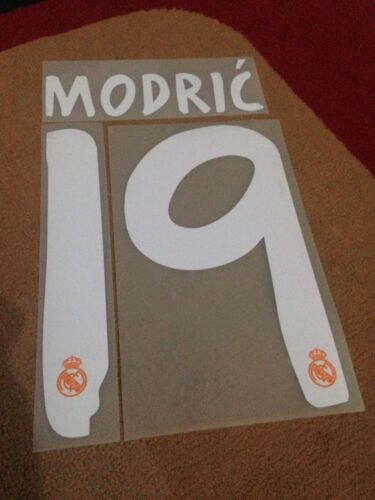 Real Madrid 13//14 Original Sporting ID Nameset