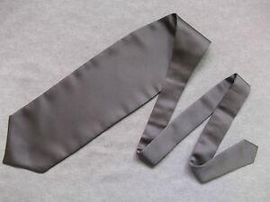 Capable Garçons Cravate Mariage Cravate Formal Party Une Taille Unique Fin Soyeux Chocolat Au Lait-afficher Le Titre D'origine
