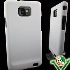 Custodia sottile rigida bianca per Samsung Galaxy SII S2 I9100 back cover hard