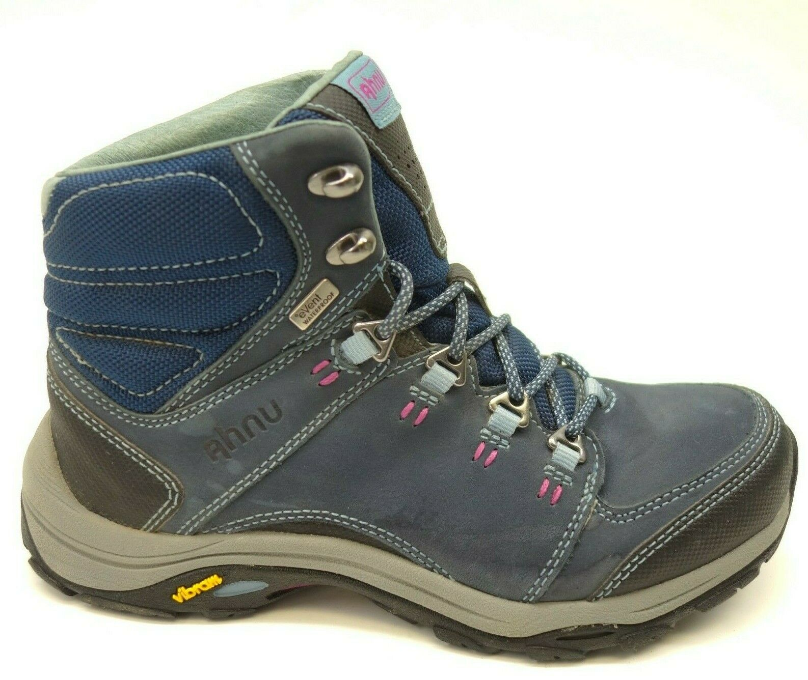 Ahnu Montara Waterproof Sz 6 Athletic Trail Hiking Cushioned Mid Womens Boots