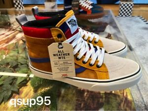Details about Vans Sk8-Hi MTE All Weather Sudan Brown Mazarine Blue Yacht  Club Size 8-13 New