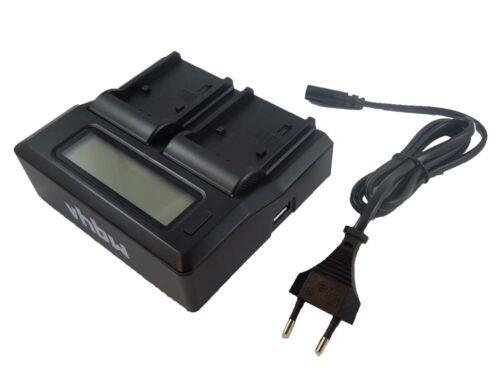 gr-dx25e Recambio batería dual cargador de carga rápida para para JVC gr-dx25