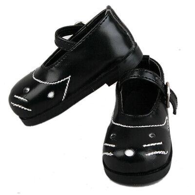 49#black1 PF 3 BJD Doll LUTS AOD DOD SD DZ Dollfie Leather Boots