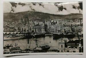 495-Antica-Cartolina-Barcelona-Cattedrale-Corrreos-Y-Layetana