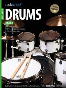 LibéRal Rockschool Drums 2012-2018 Grade 3 + Online *-afficher Le Titre D'origine