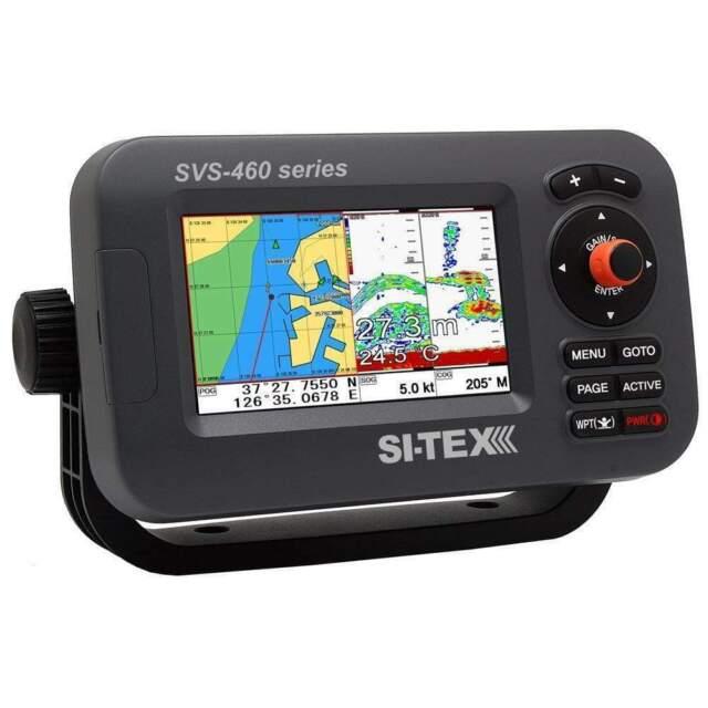 "SI-TEX 4"" Chartplotter System with External GPS & Navionics+ #SVS-460CE"