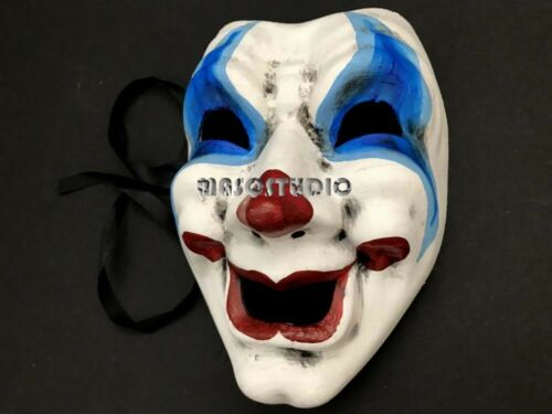Tragedy Comedy Mask Drama Sad Happy Smile Frown Halloween Costume Cosplay Party