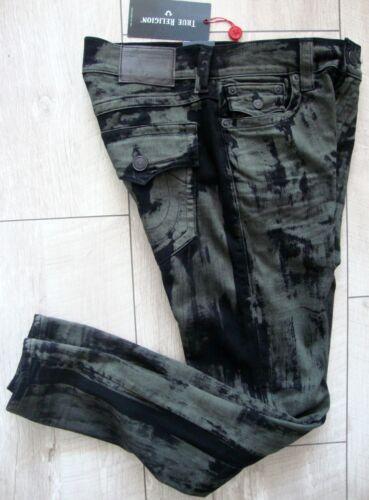 W True Jeans Religion etichetta 30 Uomo Denim Nuovo con Pantaloni Flap Taglia Se Ricky qpptrw