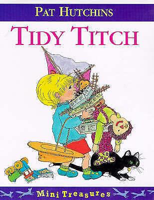 """""""AS NEW"""" Tidy Titch (Mini Treasure), Hutchins, Pat, Book"""