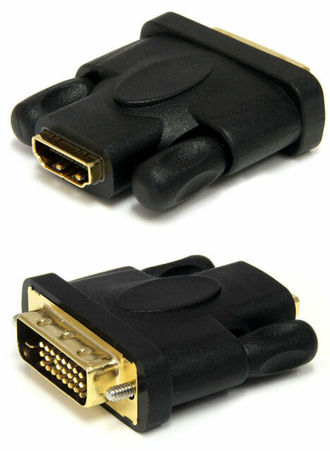 Startech HDMI to DVI-D Video Cable Adapter F//M 1 x HDMI Female Digital Audio NEW