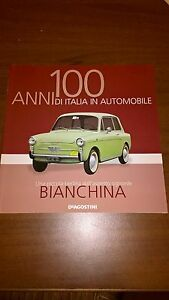 AUTOBIANCHI-BIANCHINA-Rare-booklet-30-PAGES