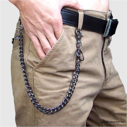 TRENDY Hip Hop Style ceintures pour hommes avec chaîne solide Sangle Réglable Accessoires