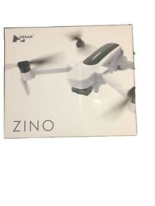 HUBSAN ZINO FOLDING DRONE 4K w/BATTERY, CHARGER, PROPELLERS AND CARRY BAG