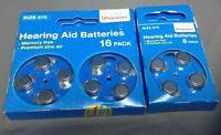 Hearing Aid Batteries 675 Walgreens Mercury Free Premium Zinc Air - 24 Pack
